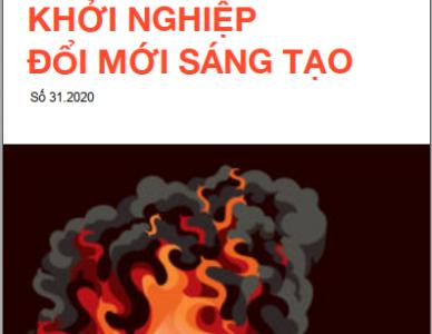 Bản tin Khởi nghiệp đổi mới sáng tạo số 31.2020