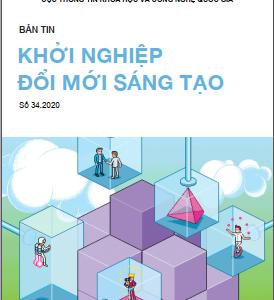 Bản tin Khởi nghiệp đổi mới sáng tạo số 34.2020