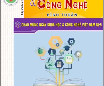 Thông tin tổng hợp KH&CN Bình Thuận số 02.2021
